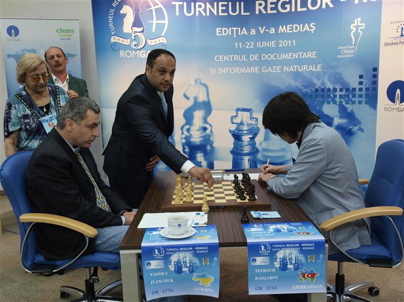 Ivanchuk und Radjabov