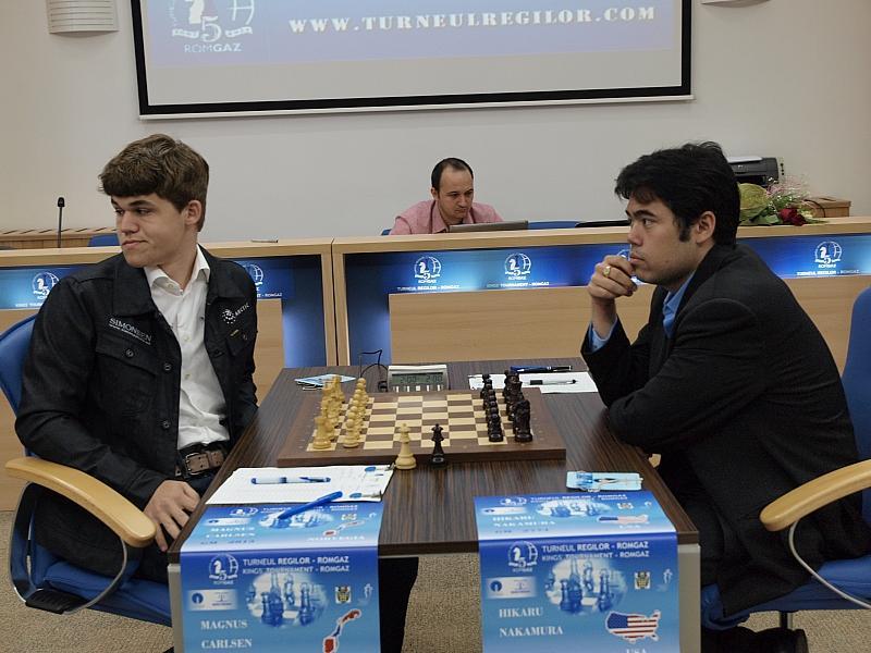 Carlsen und Nakamura