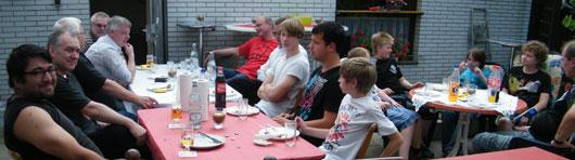 1. Grillfete 2011 bei Günter Czarnecki