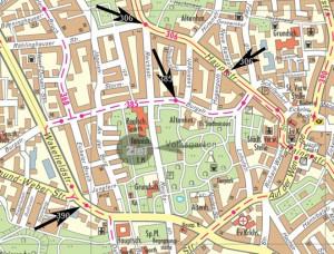 Stadtplan Herne