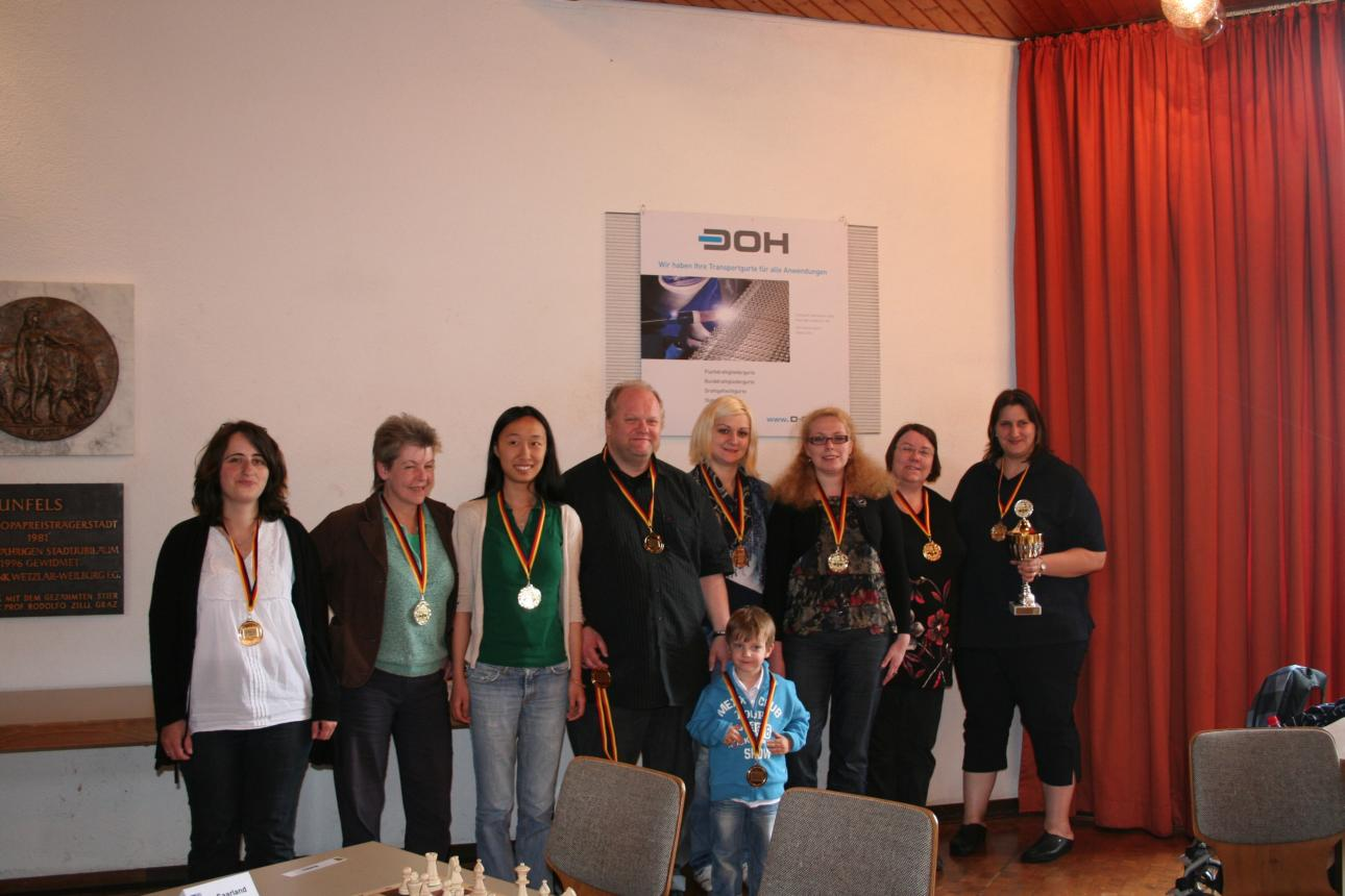 Die Siegermannschaft: NRW 1